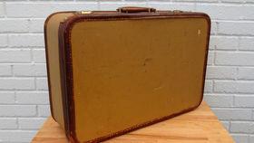 Image of a Vintage Luggage, Amelia Earhart