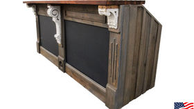 Image of a Bars: Restoration Bar w/ Chalk Board Panels, Single