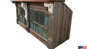 Image of a Bars: Restoration Bar w/ Tin Shingle Panels, Single