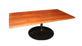 Image of a Butcher Block Coffee Table, Chestnut