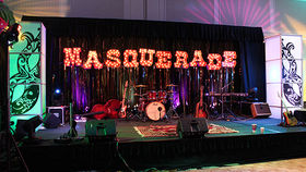 Image of a Stage Set: Masquerade Design