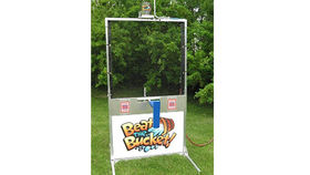 Image of a Beat the Bucket Water Game