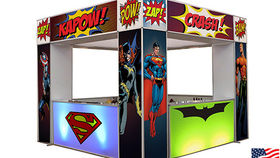 Image of a Superhero Marquee Bar