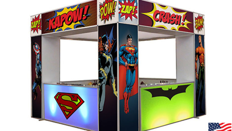 Picture of a Superhero Marquee Bar