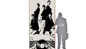 Image of a Lit Silhouette Wall: The Dave Clark Five