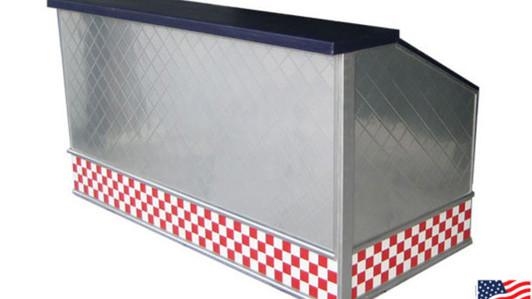 Image of a 50's Diner Quilted Bar