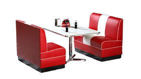 Image of a Retro Diner Booth