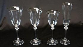 Image of a Glassware: Empire Platinum Rim Collection