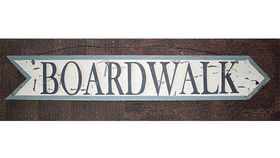 Image of a Boardwalk Arrow Sign