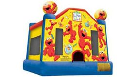 Image of a Elmo's World Bounce House