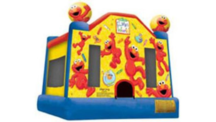 Picture of a Elmo's World Bounce House