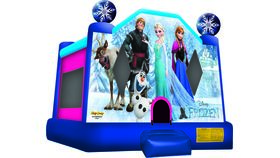 Image of a Frozen Bounce House