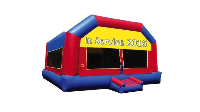 Picture of a Jumbo Bounce House