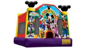 Image of a Mickey Park Bounce House