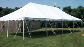 Image of a 20X40 Pole Tent