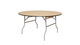 Image of a 60 Inch Round Table