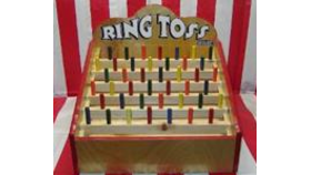 Image of a Ring Toss : Carnival Game
