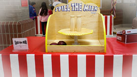 Image of a Spill The Milk : Carnival Game