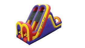 50 Foot Zip It Obstacle Course image