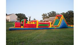 65 Foot Obstacle Course image