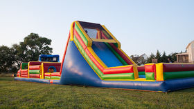 Image of a 65 Foot Obstacle Course