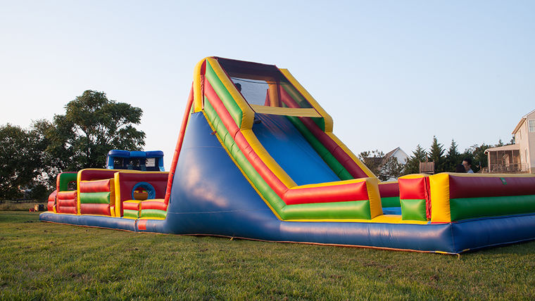 Picture of a 65 Foot Obstacle Course