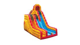 Image of a Fire N Ice Dual Lane Dry Slide
