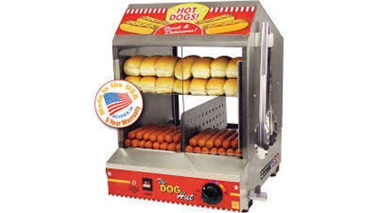 Image of a Hot Dog Steamer