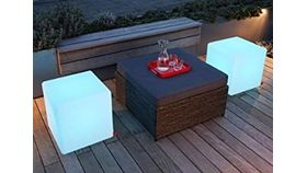 Image of a Solid LED Glow Cubes