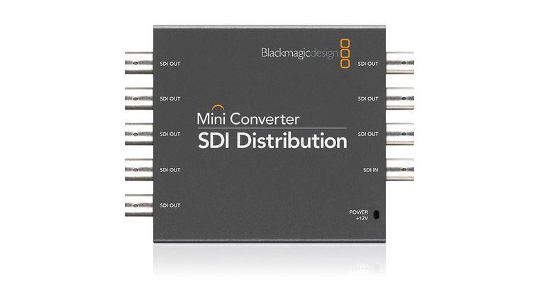 Picture of a Black Magic Boxes SDI Distribution 4K