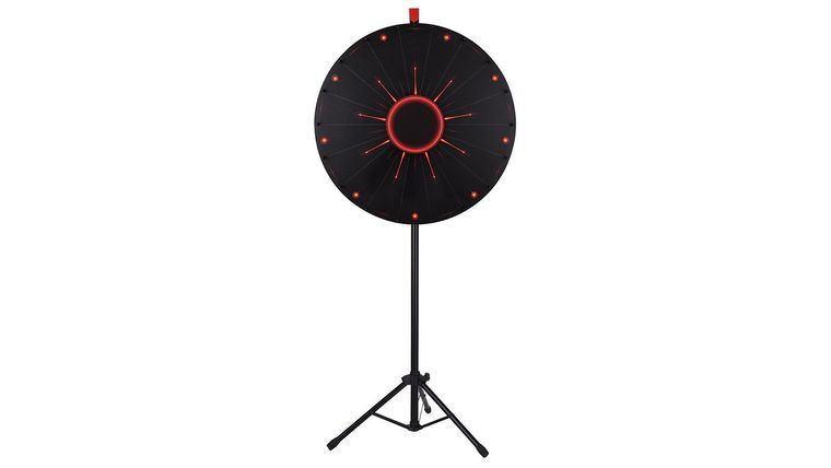 """Picture of a A2Z Wheel of Fortune - LED Light Prize Wheel 30"""""""
