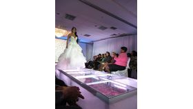 Image of a Fashion Runway Clear Acrylic Stage