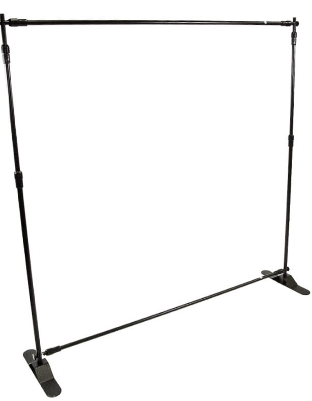 Step & Repeat Frame 10x10 rentals online - $45/day