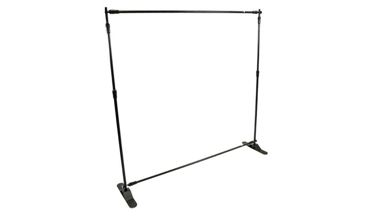 Picture of a Step & Repeat Frame 10x10