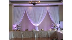 Image of a Pipe and Drape Sheer White 12' X 10'