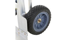 1000 lb. 3-In-1 Aluminum Assisted Hand Truck with Flat Free Wheel image