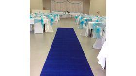 Blue Carpet 4' x 20' image