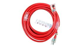 Image of a 60 ft Power Extension Cord with Locking Connectors (RED)