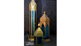 Image of a Moroccan Lantern Collection Bue