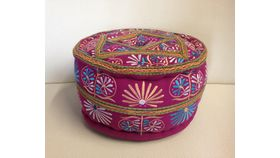Image of a Moroccan Pouf - Short