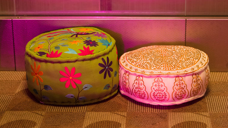 Picture of a Moroccan Pouf - Tall Jumbo