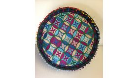 Image of a Moroccan Pouf - Short Full Size