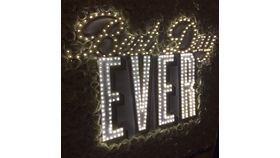 "5 Foot ""Best Day Ever"" LED Marquee Sign image"