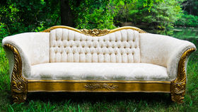 Image of a Victorian Style Sofa
