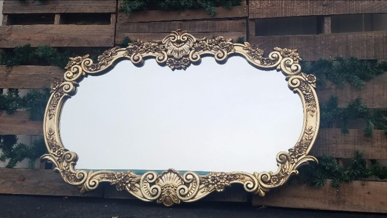 Picture of a Vintage Mirror