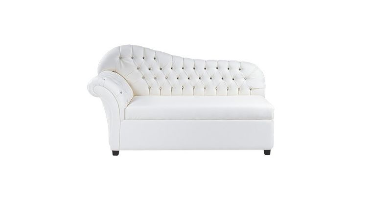 Picture of a Crystal White Chaise