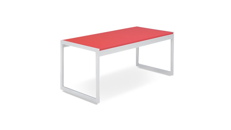 Picture of a Aria Cocktail Table - Red