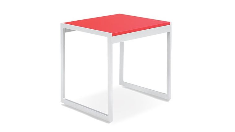 Picture of a Aria End Table - Red