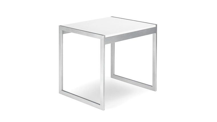 Picture of a Aria End Table - White