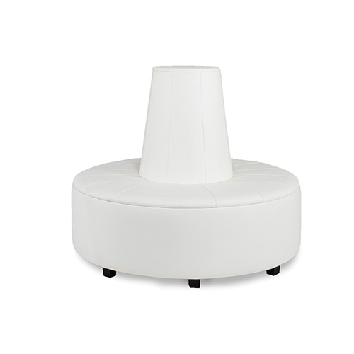 Picture Of A Essentials White Banquette High Top